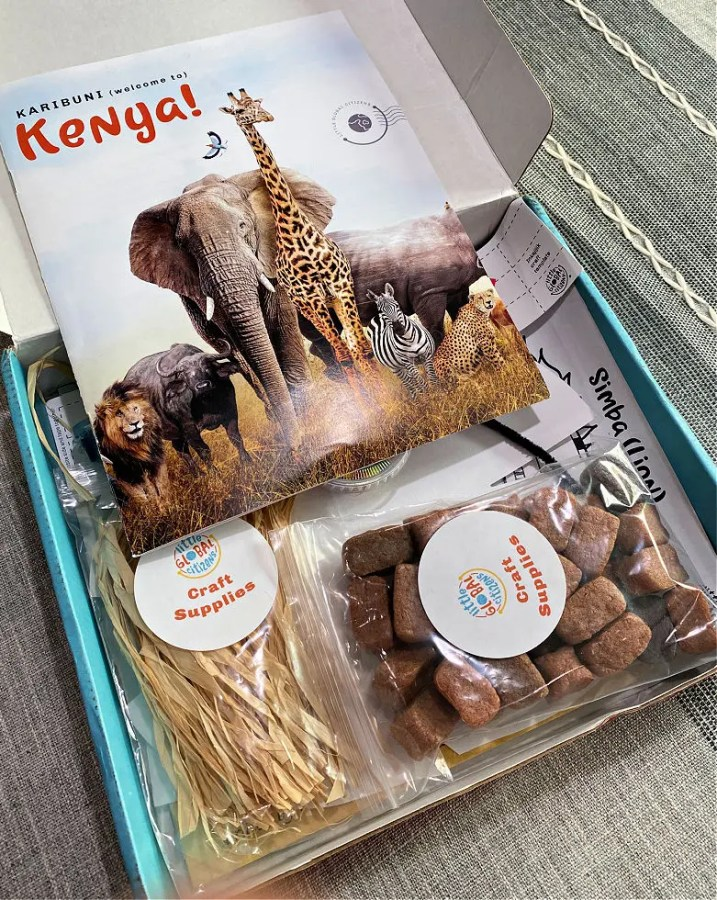 Little Global Citizens Box- Learn about Kenya