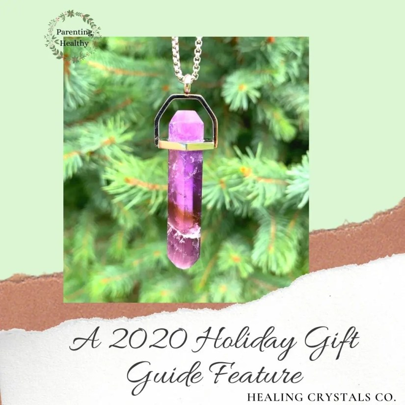 Healing Crystals Co. mindful breathing necklaces