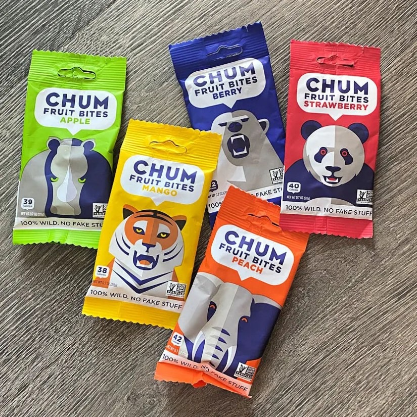 CHUM Fruit Bites have the simplest, purest ingredients