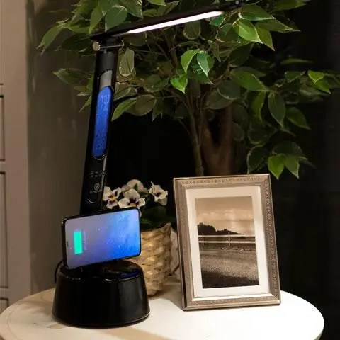 LumiCharge T2W LED Lamp, Bluetooth Speaker and Wireless Phone Charger