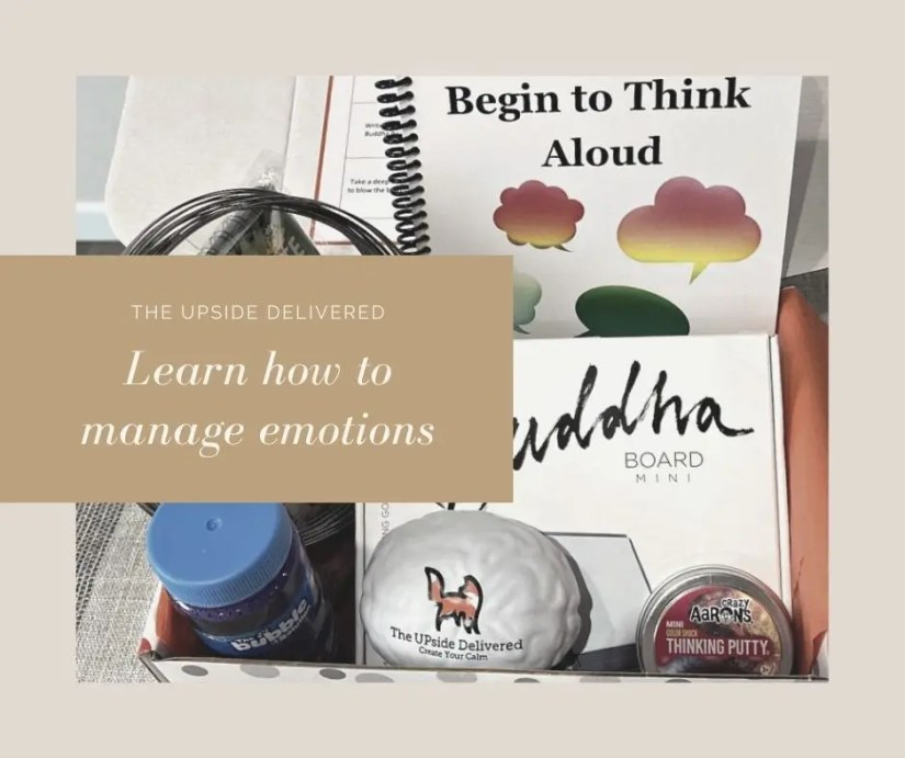 Learn how to manage emotions with Upside Delivered curated boxes for kids