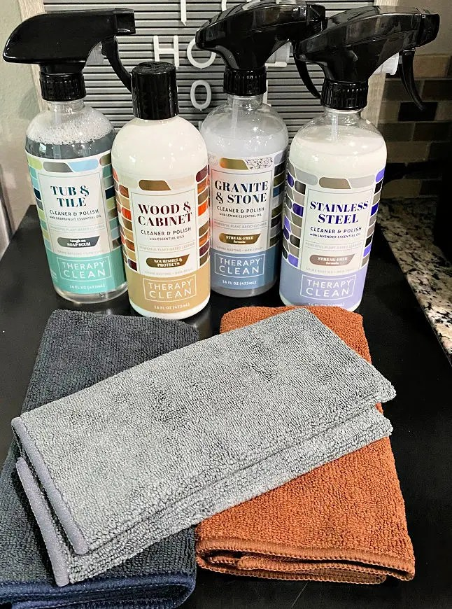 Therapy Clean plant-based cleaners