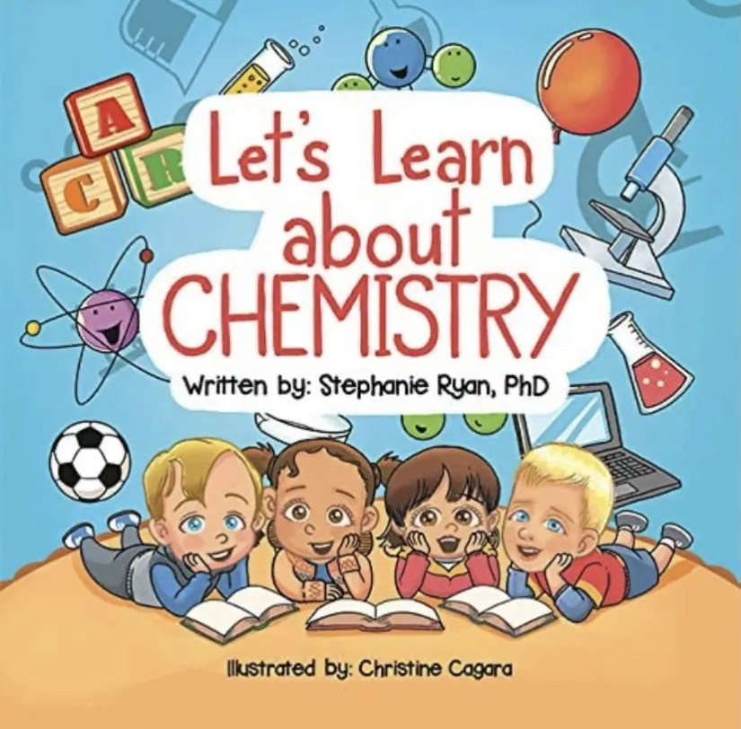 Let's Learn about Chemistry   STEM book for kids