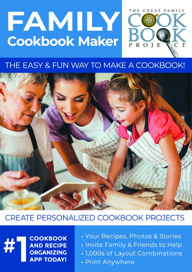 Create a Family Cookbook Together at Family Cookbook Project - Giveaway