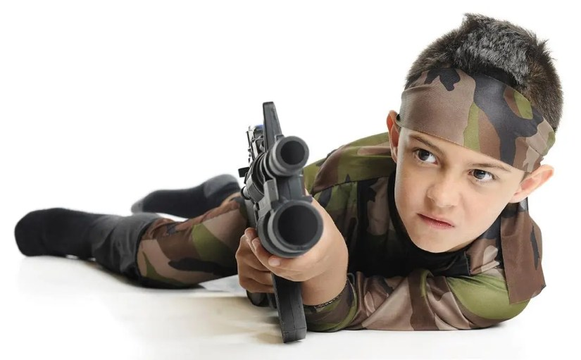 Top 3 Online Shops To Get Your Kid's Military Stuffs