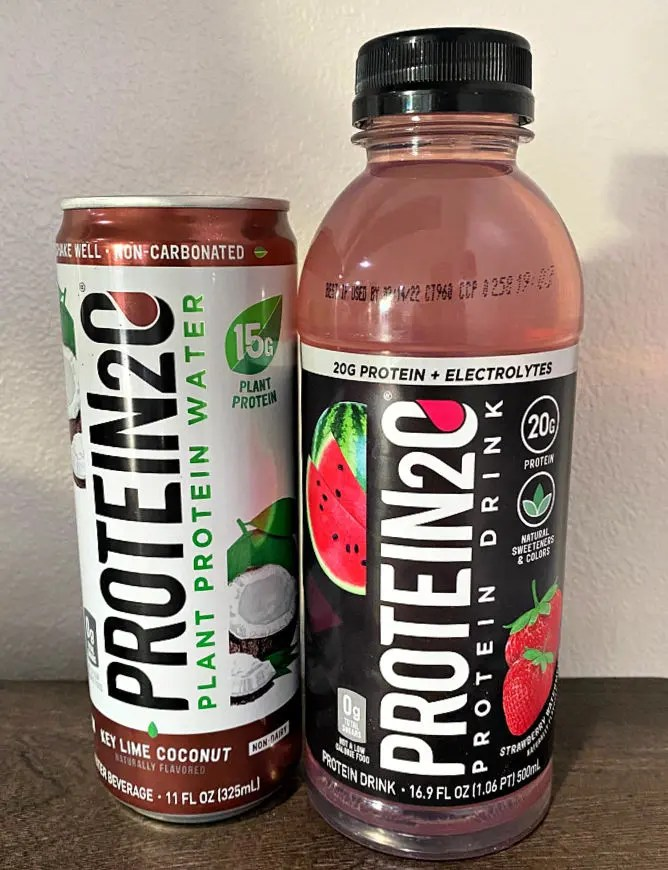 Protein2O plant-based, vegan protein water is my go-to morning beverage
