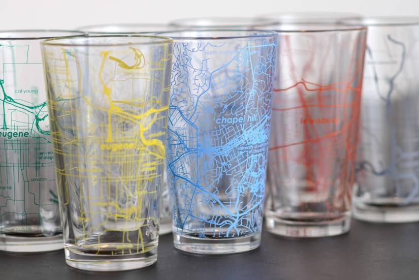 Glassware and Barware from Well Told Makes Great Gifts for Dad
