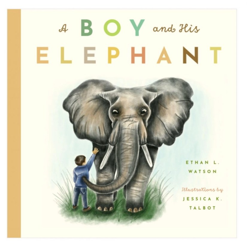 A Boy and his Elephant book