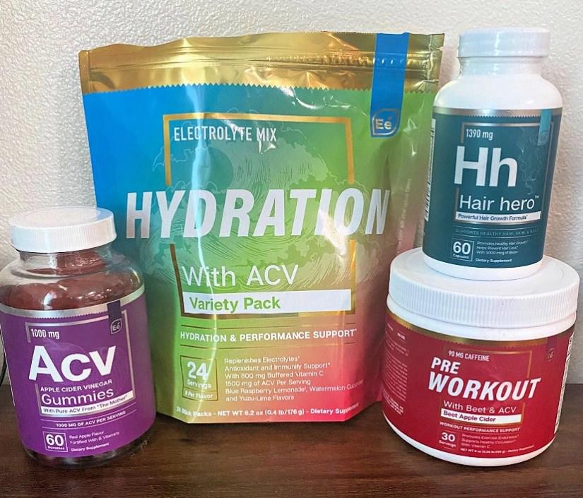 Essential Elements Nutrition launched Apple Cider Vinegar Hydration Sticks