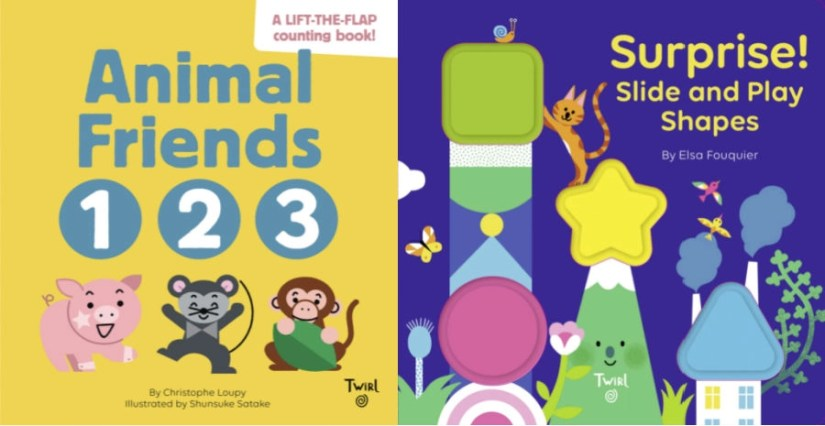 2 Toddler Books that Teach Shapes and Numbers