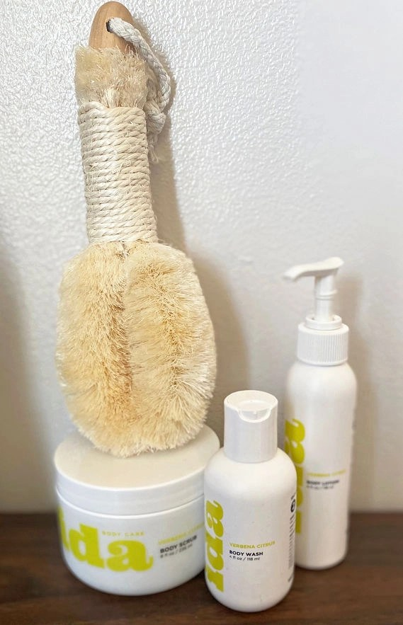 This Ida Body Care line is clean and natural, vegan, and cruelty free