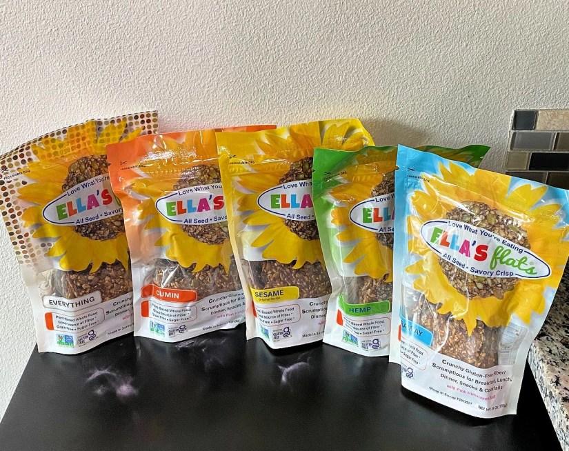 Ella's Flats Vegan, All-Seeds Savory Crisps are the perfect keto snack