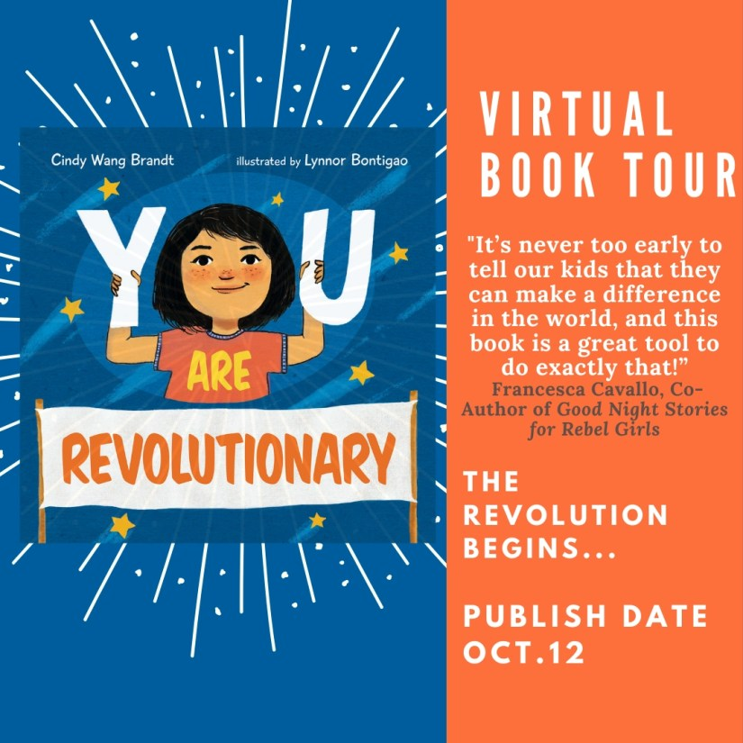 You Are Revolutionary Book Tour and Giveaway