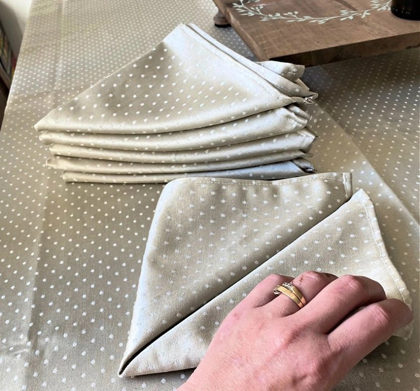 Loom & Table napkins - Elm