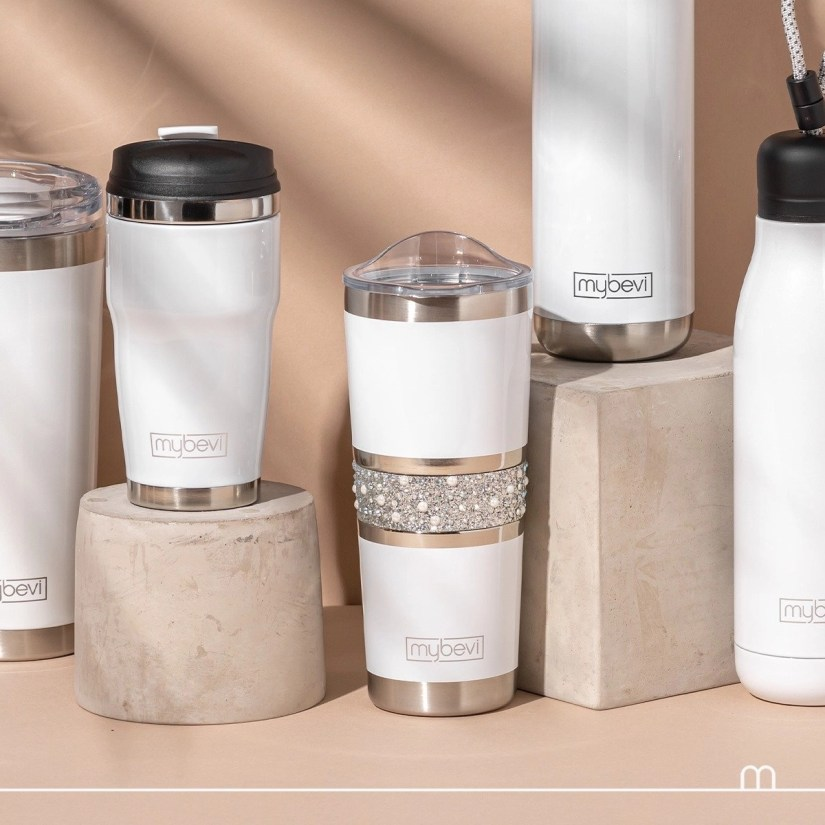 MyBevi beverage containers will fit with your life and style