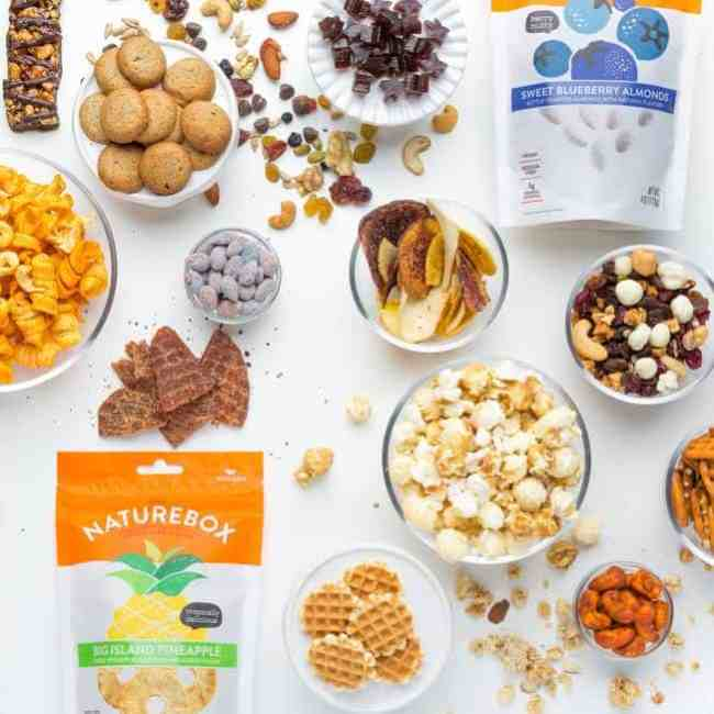 Enjoy NatureBox with Monthly Snack Deliveries - Giveaway
