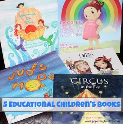 5 Educational Children's Books that are fun to read