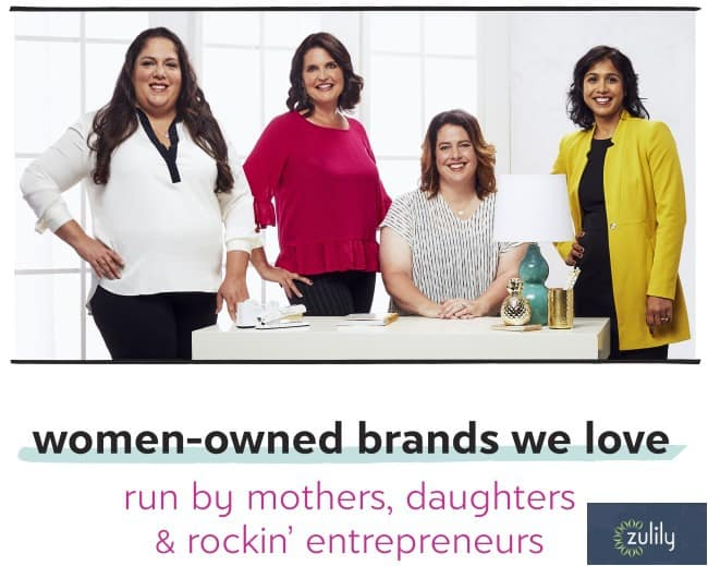 Celebrating Women Entrepreneurs in Business with Zulily Savings