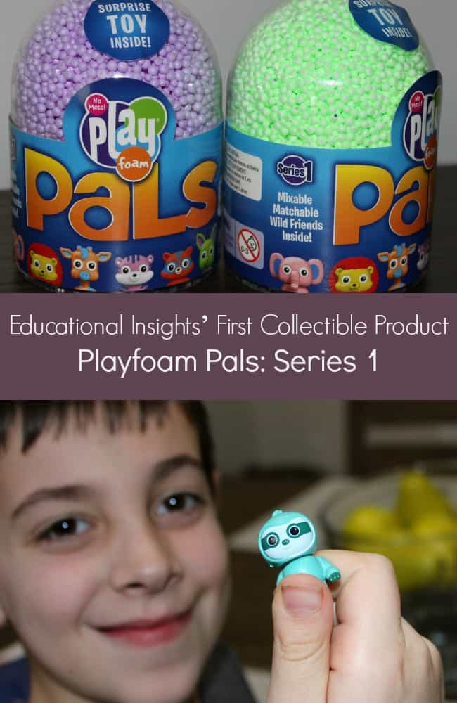 Educational Insights' First Collectible Product_ Playfoam Pals Series 1