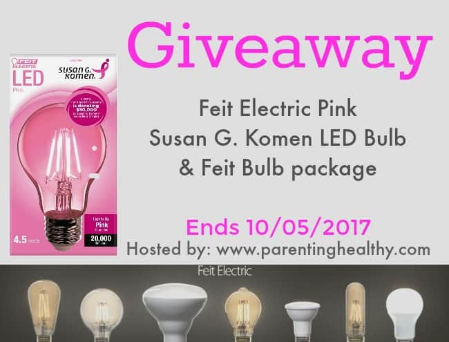 Feit Electric Pink Susan G. Komen LED Bulb
