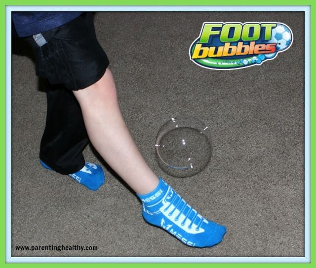 Foot Bubbles