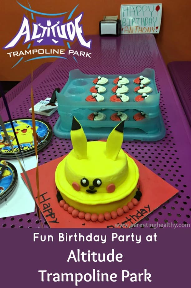 Fun Birthday Party at Altitude Trampoline Park