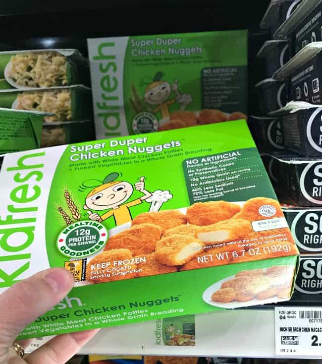 KidFresh nuggets