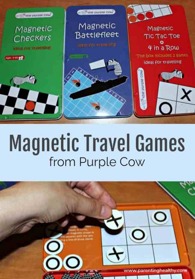 Magnetic Travel Games from Purple Cow