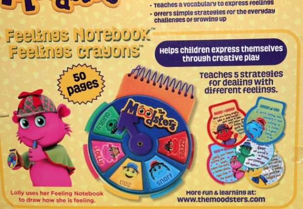 moodsters-emotions-notebook | parenting healthy
