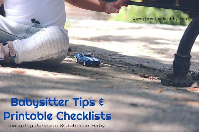 New Babysitter Tips and Printable Checklists