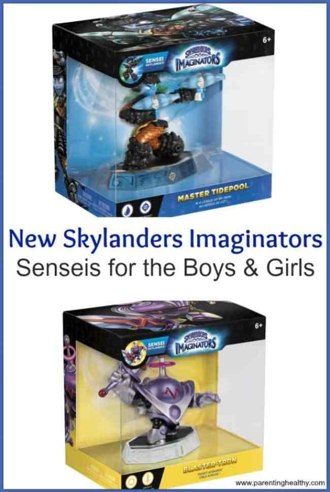 New Skylanders Imaginators Senseis for the Boys & Girls