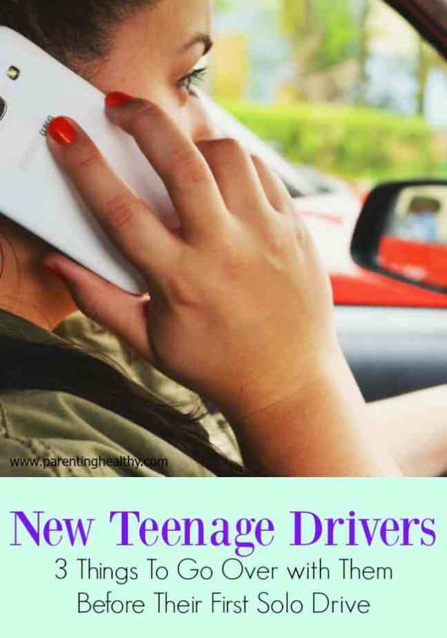New Teenage Drivers - 3 Things To Go Over with Them Before Their First Solo Drive