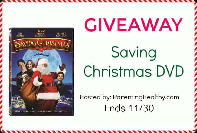 Saving Christmas Movie Review and DVD Giveaway