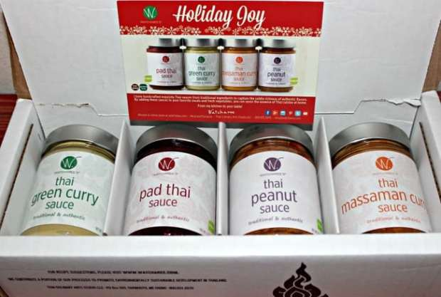 Thai sauces gift pack