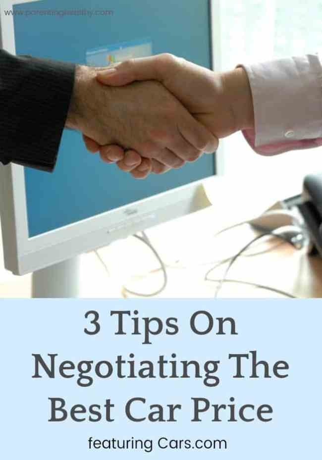 Tips On Negotiating The Best Car Price