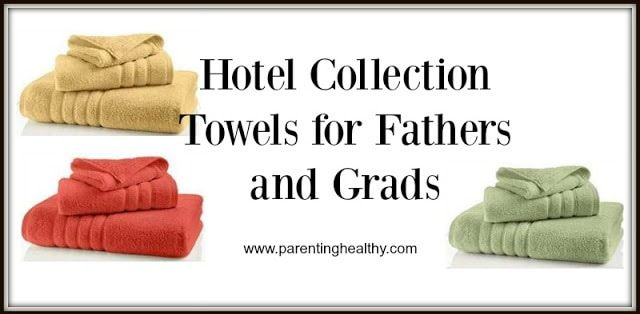 Hotel Collection Ultimate Micro Cotton Towels for Fathers and Grads