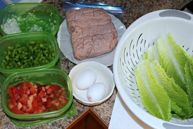 Turkey wrap ingredients