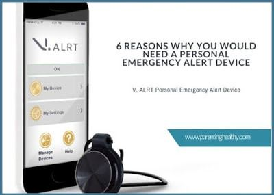 6 Reasons Why You would Need a Personal Emergency Alert Device like V. ALRT