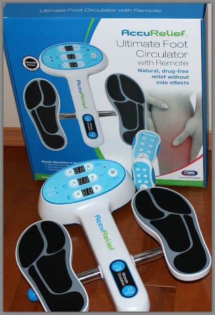 AccuRelief™ Ultimate Foot Circulator for better foot and leg health