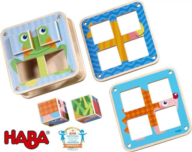 National Parenting Product of the Year Award Winner: HABA Cubes Puzzle