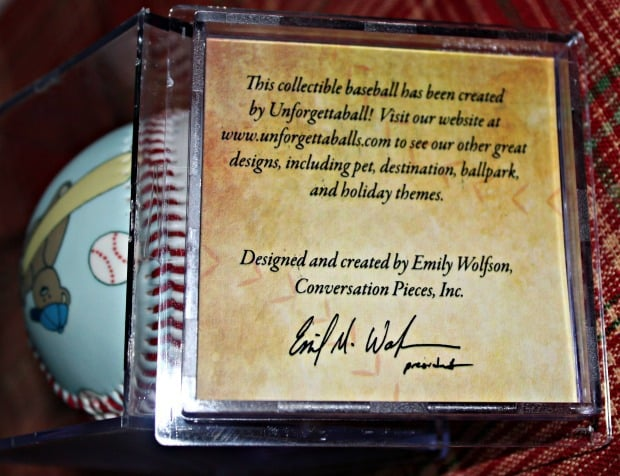 first baseball keepsake