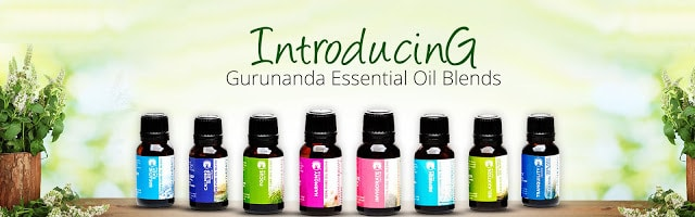 New Essential Oil Blends from GuruNanda