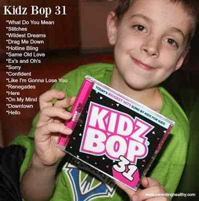 Kidz Bop New Release CD | Parenting Healthy