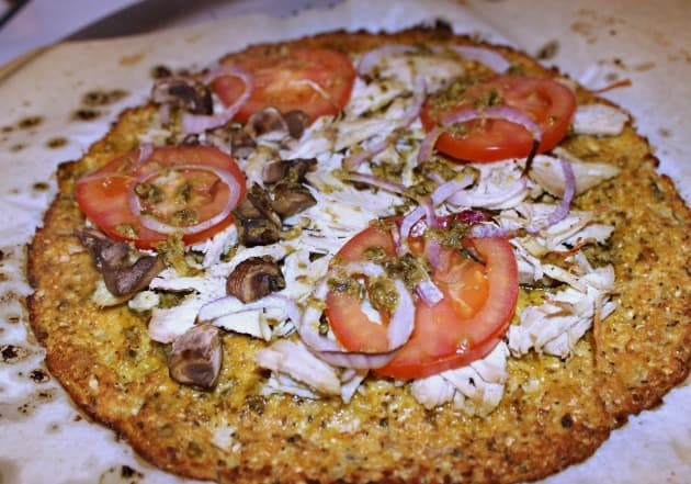 Dairy Free Cauliflower Pizza Crust Recipe