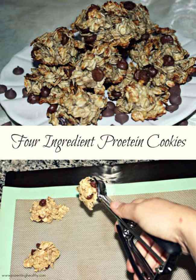 Four Ingredient Protein Cookies with Premier Protein #TheDayIsYours