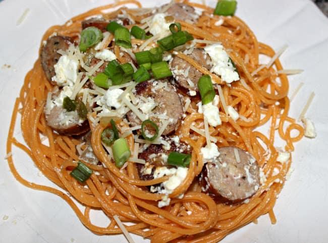 Veggie Pasta and Sausage Recipe for Dinner