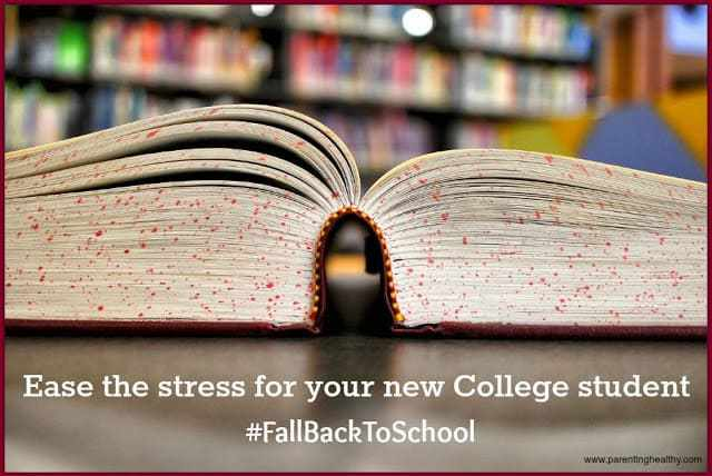 Ease the stress for your new College student with Follett