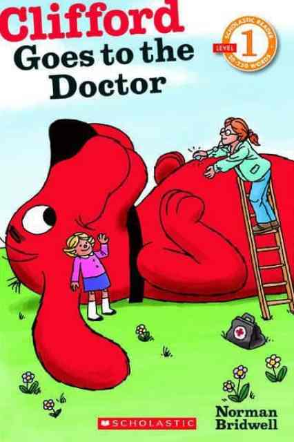 Limited-edition Distribution of Clifford Goes to the Doctor