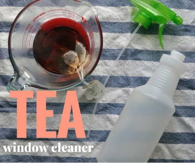 Putting Homemade Tea Window Cleaner to the test with Choice Organic Teas