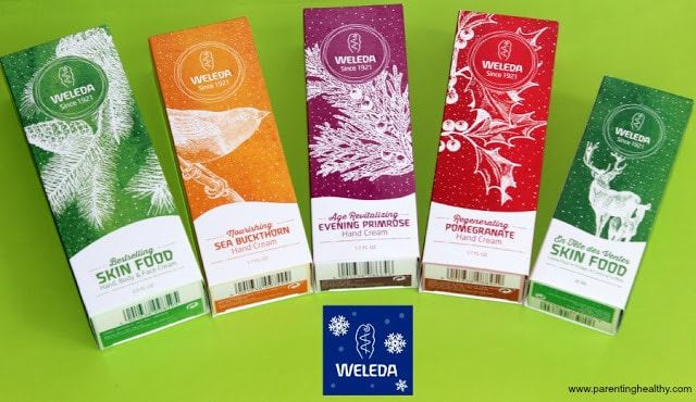 Weleda Holiday Gift set for the perfect beauty gift basket